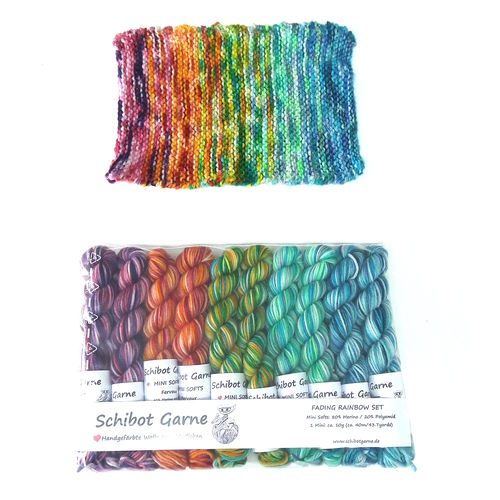 Mini Softs - Fading Rainbow Set