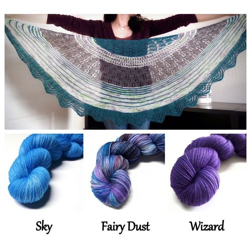 KIT - Wyvern Shawl #7