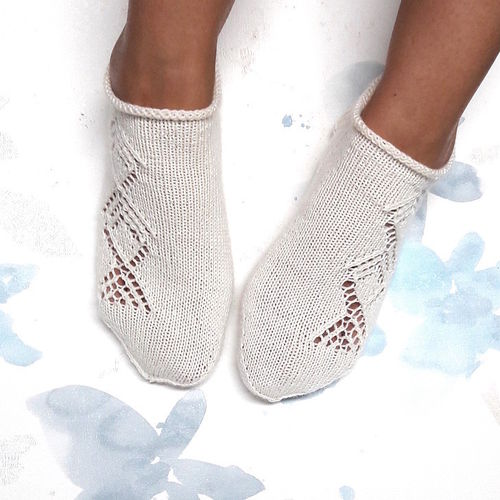 Lacy Summer Sneaker Socks